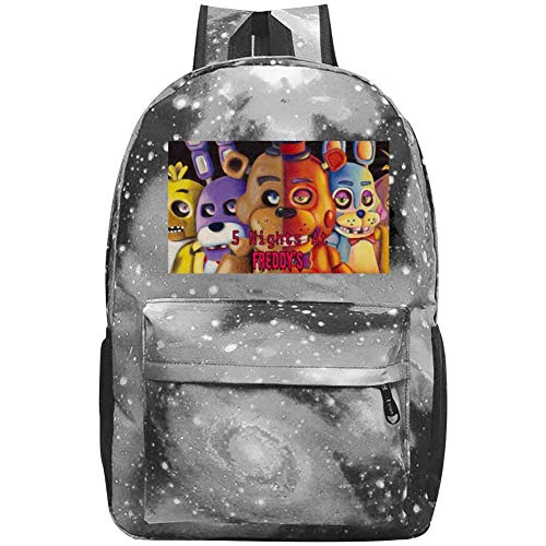Kids Galaxy Five_Nigh_Ts_At_Fre_ddy's School Bag For Teens Boys Girls Student Casual Rucksack Waterproof School Backpack Daypacks
