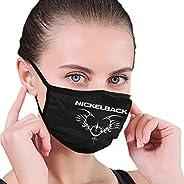 Unisex Nickelback Band Mask Tattoo Windproof and Dustproof Face
