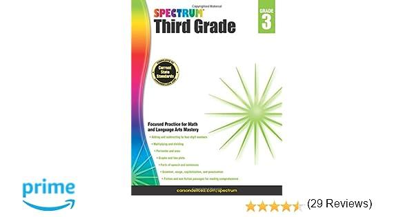Spectrum Grade 3: Spectrum: 0044222240806: Amazon.com: Books