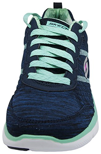 37 High Femme EU Basses 2 Appeal Multicolore Energy Navy M 2 Skechers Aqua 0 Baskets Flex gvxqnaI
