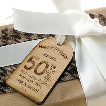 Special 50th Birthday Gift Keepsake Gifts For Him