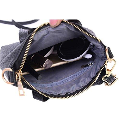 Wallet KONFA Grey Small Holder Bags PU Women For Shoulder Purse Leather Crossbody Handbag Bag Elegant Tote Solid Color Ladies Coin ZHqrZ1