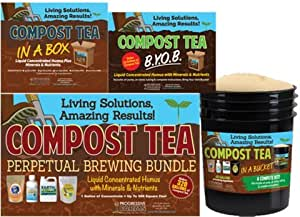 Compost Tea Brewing Bundle - Nutrient Mix Makes 200 Gallons