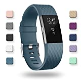 POY For Fitbit Charge 2 Bands, Classic & Special Edition Replacement bands for Fitbit Charge 2, Slate Small