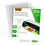 Fellowes Thermal Laminating Pouches, Letter Size