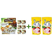 Annie Chun's, Rice Express, Sprouted Brown Sticky Rice, 6.3 oz (180 g)( 7 PACK )+( 2 PACK ) Gerber, Graduates, Yogurt Melts, Mixed Berries, 1.0 oz (28 g)