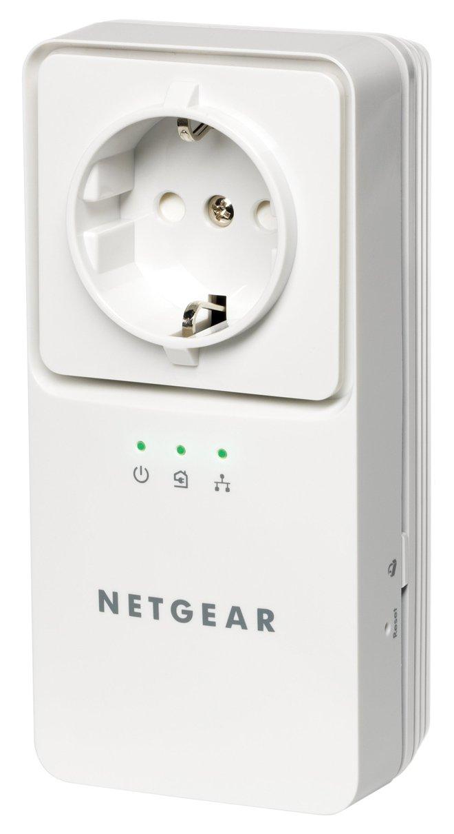 NETGEAR XAVB2501 100PES Powerline AV+ Adapter Kit (200 Mbit