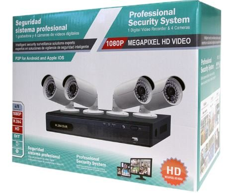 - Planet HDVR-430 4 Channel Hybrid Digital Video Recorder Bundle with 4 CAM-AHD325 Analog HD IR Bullet Cameras (5 items)