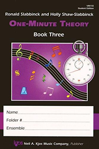 VM15S - One-Minute Theory Bk. 3 - Student Ed. by Ronald Slabbinck (2012-01-01)