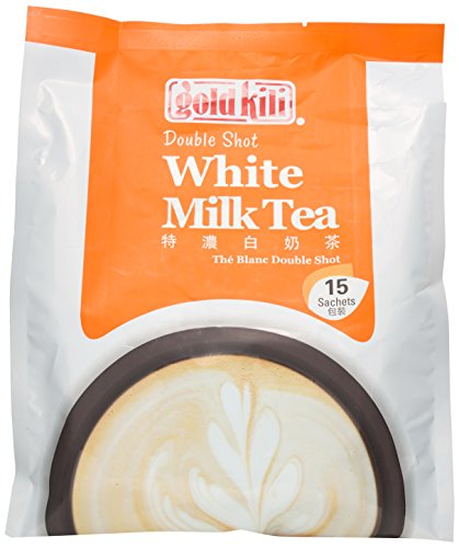 Gold Kili instant Double Shot White Milk Tea, 15 (Instant Milk Tea)