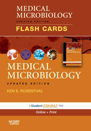 Rosenthal Flash - Medical Microbiology and Immunology Flash Cards, Updated Edition: with STUDENT CONSULT Online and Print