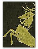Game of Thrones HBO Art Sleeves: House Baratheon (Pack of 50 Sleeves)
