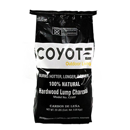 Coyote CLMP All natural lump charcoal - 20 lb bag (M-70) by Coyote