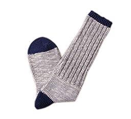 Tusong Women\'s 5 Pair Cotton Warm Winter Slouch Knit Socks