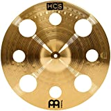 Meinl Cymbals HCS16TRC 16'' HCS Brass Trash Crash Cymbal for Drum Set (VIDEO)
