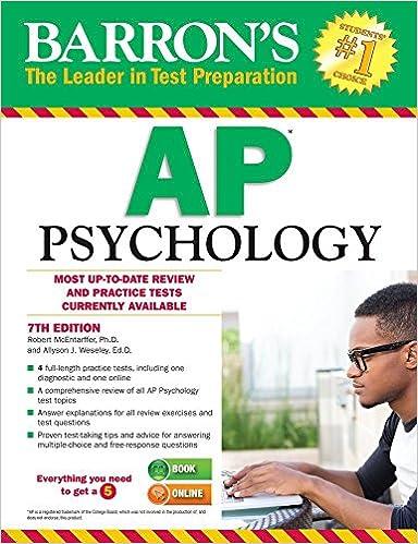 Amazon barrons ap psychology 7th edition 9781438007434 barrons ap psychology 7th edition 7th edition fandeluxe Gallery