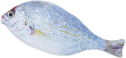 Estuche para lápices creativo diseño imitación pez de Drawihi, color whitebait 25.2*9.8CM: Amazon.es: Oficina y papelería