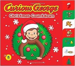 Curious George Christmas.Curious George Christmas Countdown Cgtv Tabbed Bb Tish