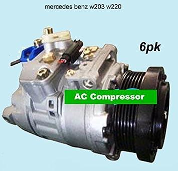 GOWE coche aire acondicionado Compresor para coche mercedesbenz W203 W220 0012300011 447200 - 8851 447170 - 9901 tsp0155339: Amazon.es: Bricolaje y ...