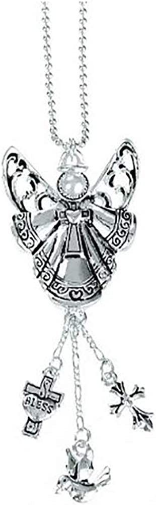 Ganz Car Charm Angel with Pearl Face