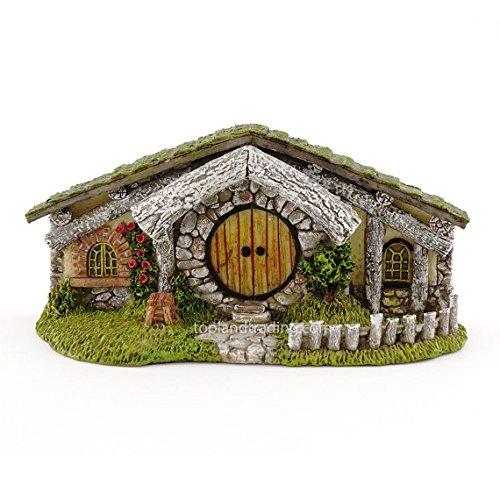 My Fairy Gardens Miniature - Oak Alley Hidden Home Hobbit Cottage - Mini Dollhouse Supply Expressions