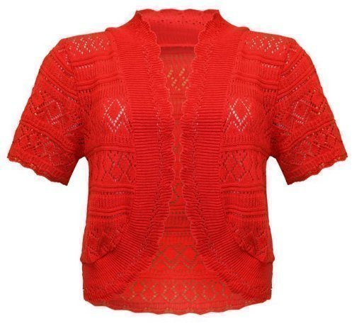 Envy Boutique - Torera - para mujer Rojo