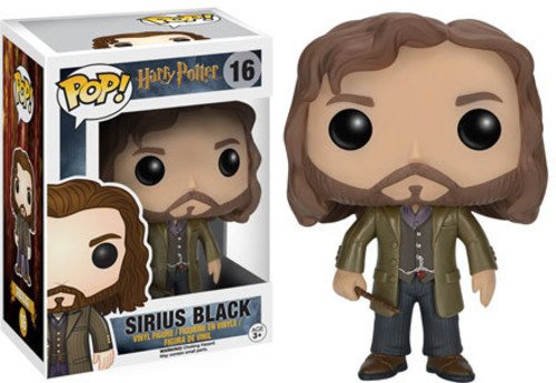 Funko-6570 Sirius Black Figura de Vinilo, coleccion de Pop, seria Harry Potter (6570)