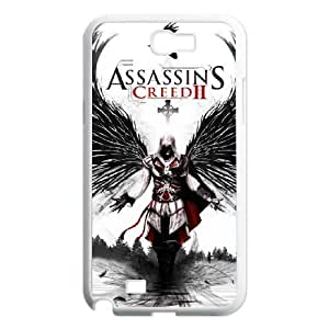 SamSung Galaxy Note2 7100 phone cases White Assassin's Creed fashion cell phone cases YRTE0202323