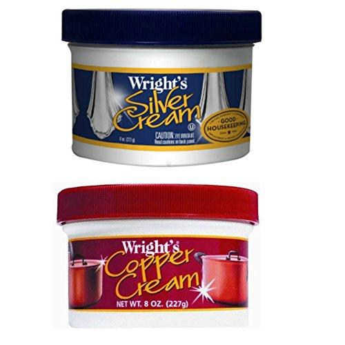 Jars Wrights Silver Cream Copper