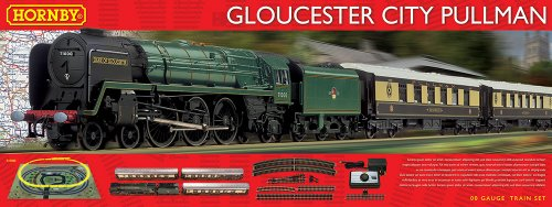Hornby Gloucester City Pullman Train Set (Hornby Train Sets)