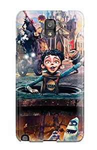 Excellent Galaxy Note 3 Case Tpu Cover Back Skin Protector The Boxtrolls 2014 Movie