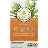 Traditional Medicinals Organic Ginger Aid, 20 tea bags, 40g
