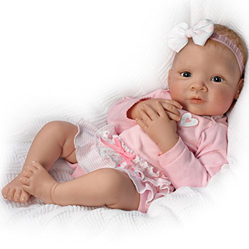 Baby Doll with Sentiment Card for Child: Granddaughter, I Lo