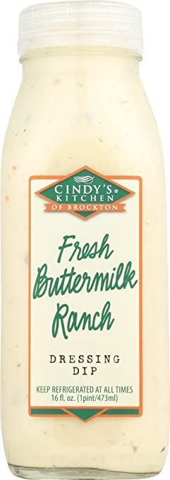 Amazon.com : Cindy\'s Kitchen, Fresh Buttermilk Ranch, 16 oz ...