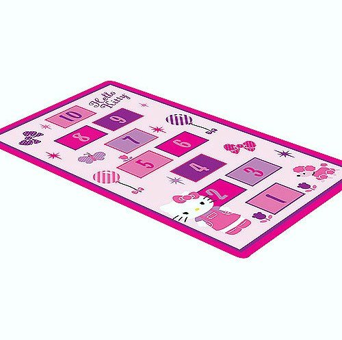 Hello Kitty Hopscotch Game Rug Includes Bean Bags Hello