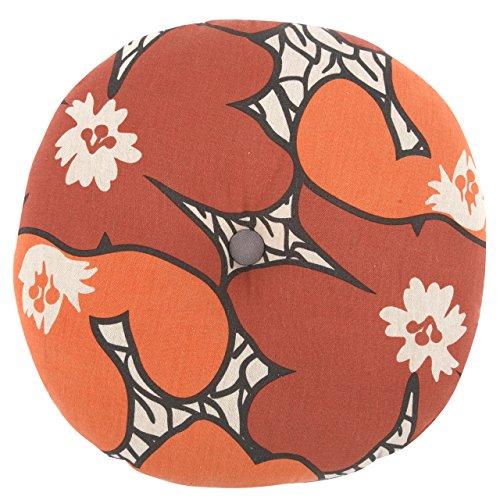 Thomas Orange Pillow Paul (THOMAS PAUL SP951 Ginger Flame/Pop Seat Cushion)