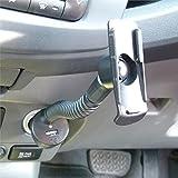Powered Gooseneck Car Lighter Charging Arm for Garmin Oregon 200 300 400t 450 450t 550 500t 600 600t 650 650t (SKU 20549)