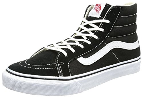 Where to find vans shoes men high tops black?