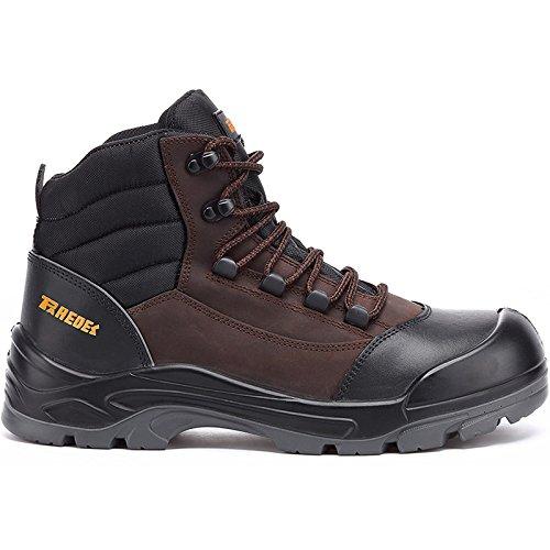 Paredes SP5042 NE-MA47 Hammer Chaussures de sécurité S3 Taille 47 Marron/Noir