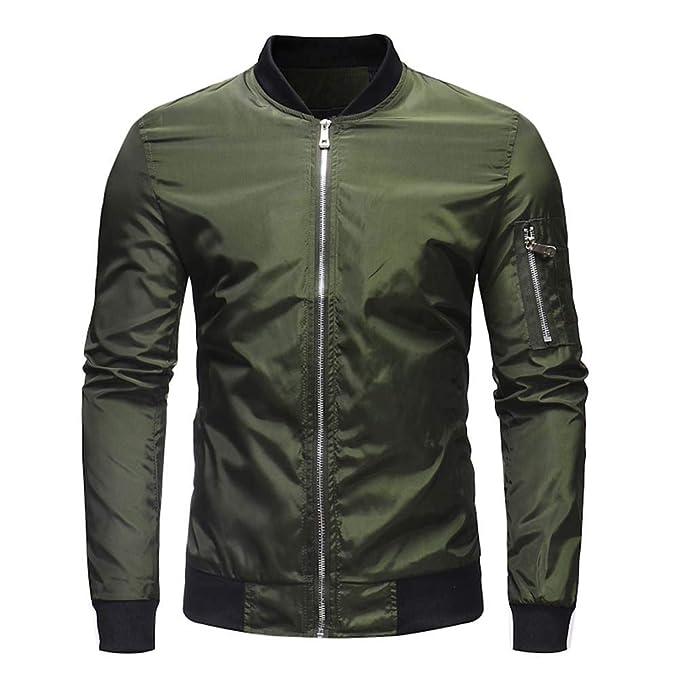 Luckycat Herren Herbst Winter Casual Solid Zipper Jacke Mantel Top Bluse Outwear Mode 2018