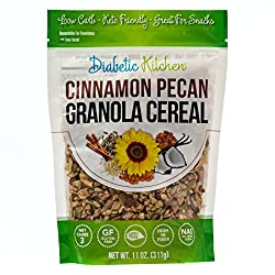 You'll Look Forward To Breakfast AgainOur customers asked for a breakfast cereal and we went to work in the kitchen. You'll simply be amazed at how good this Granola Cereal is - and just THREE NET CARBS!Are you on a low carb, keto or LCHF diet? No pr...