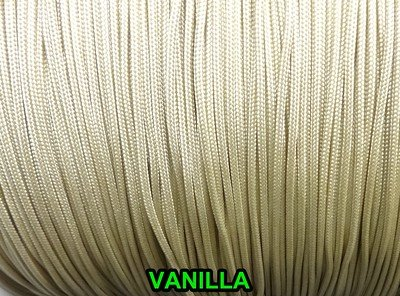 10 YARDS: 1.8 mm VANILLA Professional Grade Nylon Lift Cord For Blinds & Shades Amazing Drapery Hardware