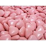 Confetti di Sulmona Pelino dal 1783 - Confetti al Cioccolato Rosa Bambina sacchetto da 200g - ideali per confettata, matrimonio, cresima, battesimo, comunione