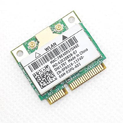 Dell DW1397 Broadcom 4312 Wireless Card WLAN WIFi Wireless Card 802 11a/b/g  54 Mbps BCM94312HMG