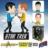 Star Trek Amok Time Kirk vs. Spock Bobble Heads - Con. Excl.