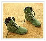 Best Disney Mens Snow Boots - LOVELY&SWEET Autumn Winter Women Boots Matte Flock Boots Review