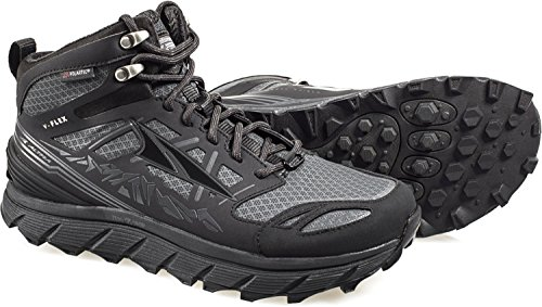 Altra Lone Peak 3 Mid Neo Running Shoes - Women's Black 11 by Altra