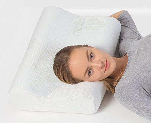 Pharmedoc Contour Memory Foam Pillow With Cooling Gel And