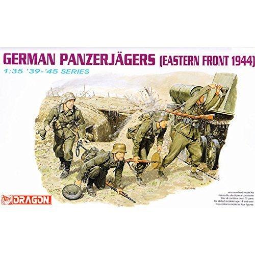 プラッツ 1/35 ドイツ軍戦車猟兵 東部戦線1944 プラモデル DR6058