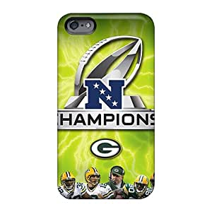 Shockproof Hard Phone Covers For Apple Iphone 6s (vyw2010OYgY) Unique Design Stylish Green Bay Packers Series